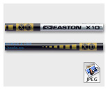 Tube Easton X10 par 12