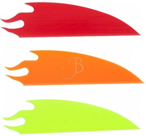 Plume Plastique Flex Fletch The Flame par 50
