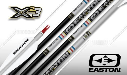 Tube Aluminium Easton X23 Black Edition