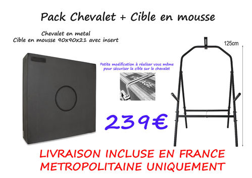 Pack Cible + Chevalet